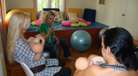 Mαθήματα προετοιμασίας για το θηλασμό